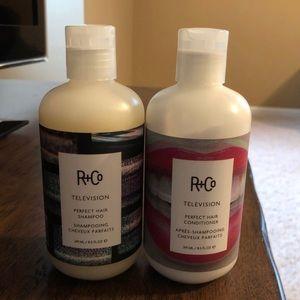 R&Co shampoo & conditioner